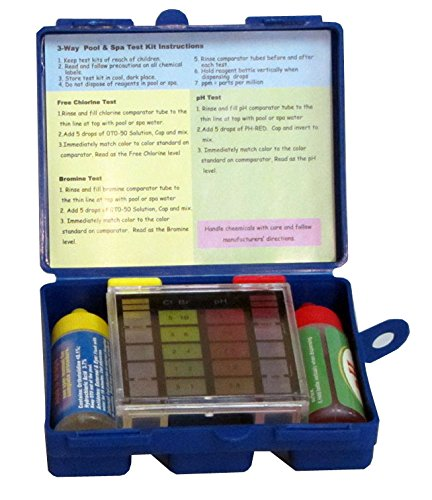 swimming pool water test kit instructions