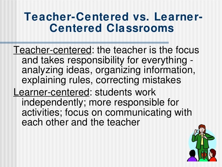 direct instruction vs student centered