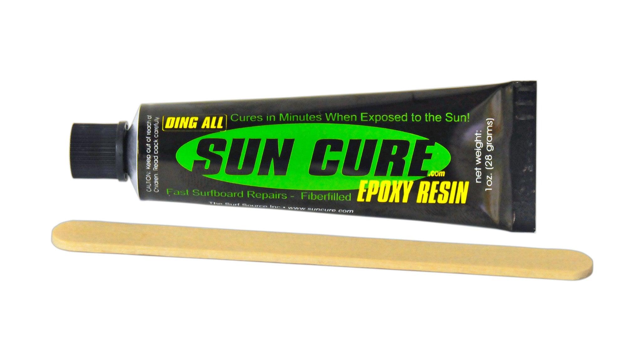 sun cure epoxy instructions