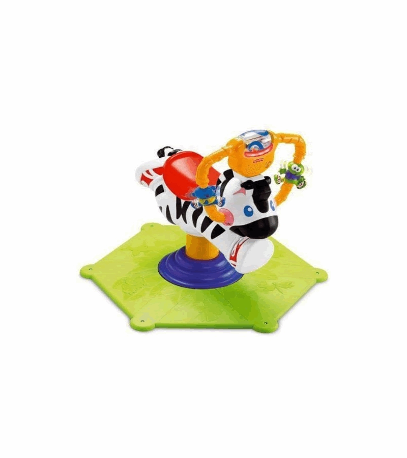 fisher price zebra bouncer instructions