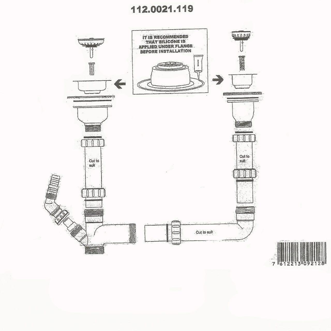 franke plumbing kit instructions