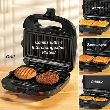 george foreman waffle iron instructions