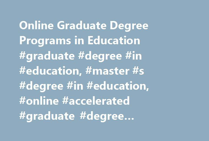 graduate certificate in instructional technology