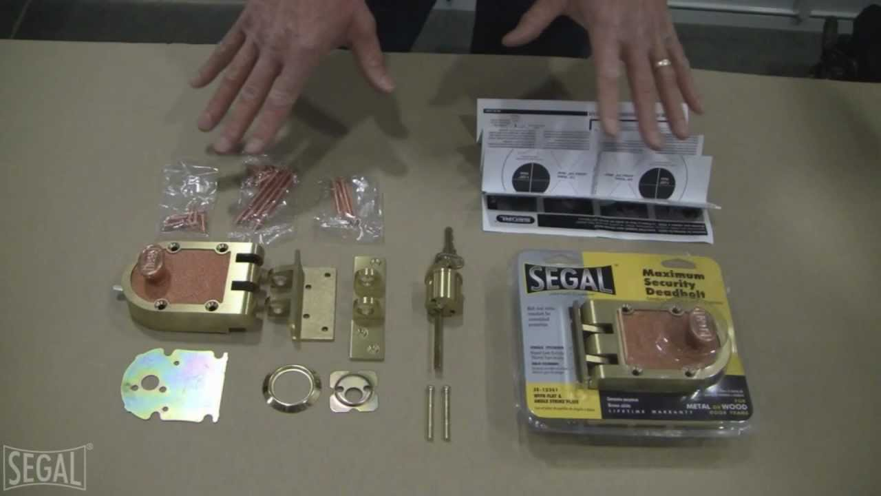 how to install t locks instructions