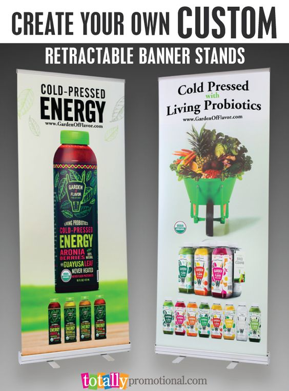 how to make a banner stand instructables