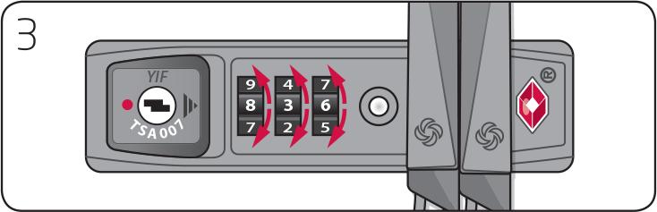 instructions tsa lock samsonite