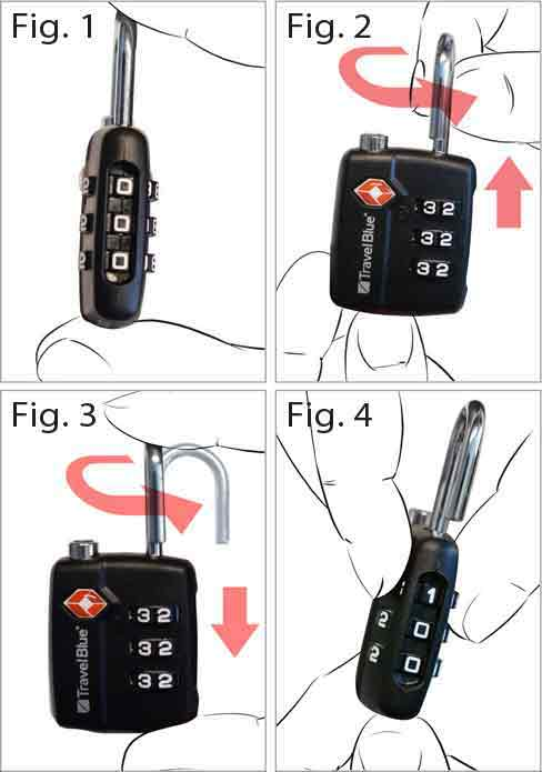 lanza 3 dial combination lock instructions