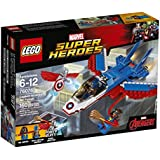 lego captain america jet pursuit instructions