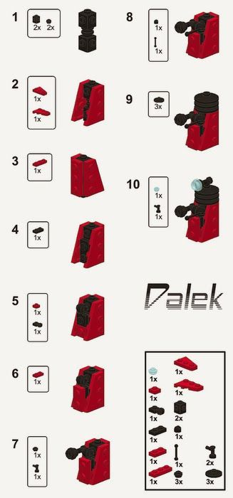 lego dimensions instructions dalek
