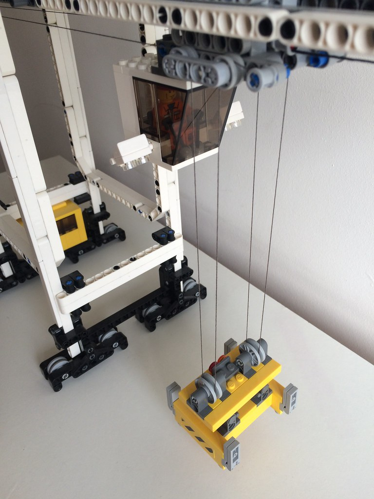 lego technic container crane instructions