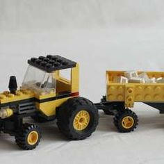 lego tractor trailer truck instructions