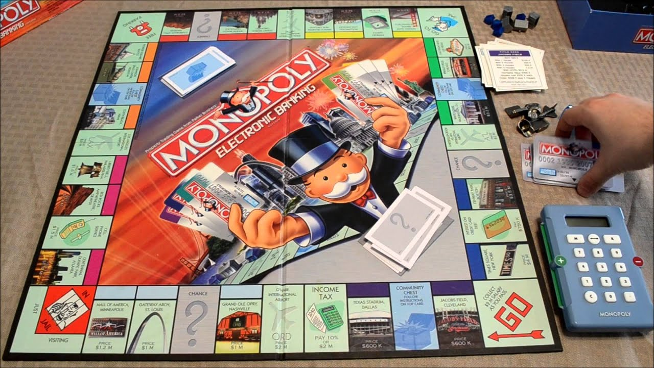 monopoly championship edition instructions