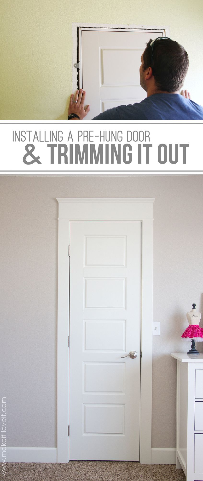 prehung doors installation instructions