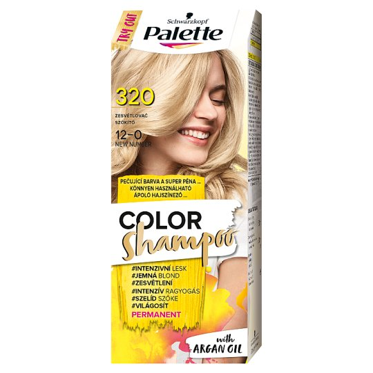 schwarzkopf palette color shampoo instructions