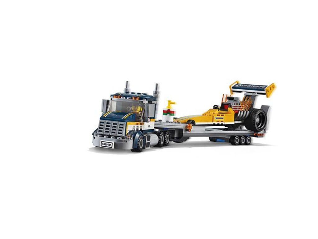 small lego truck with trailer instructions